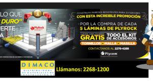 Láminas Plyrock - Promoción DIMACO - AFENIC